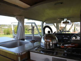 Olive - Classic VW Camper Van hire in Cornwall - Image #3