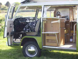 Olive - Classic VW Camper Van hire in Cornwall - Image #1