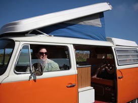 Blossom - Classic VW Camper Van hire in Cornwall - Image #5