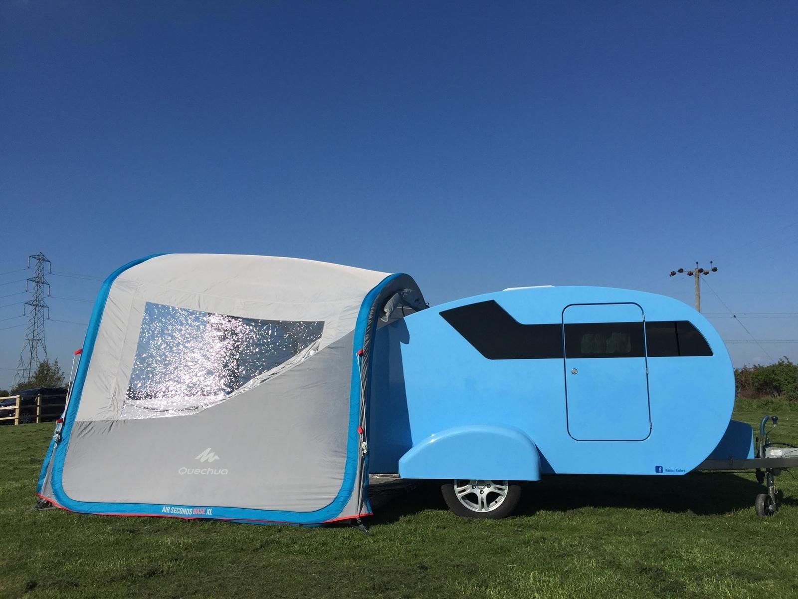 """Caravan for Hire in HUDDERSFIELD from £40.0 """"Teardrop ..."""