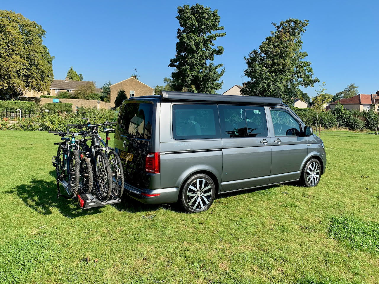 Campervan For Hire In Boston Spa From 110 00 Nearly New Vw California T6 Ocean 4motion Automatic Dsg Campervan Camplify