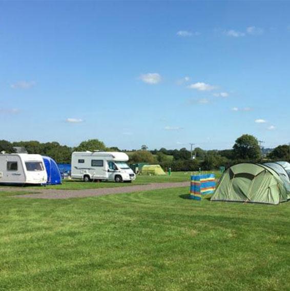 Ashcombe Farm near to Glastonbury Festival