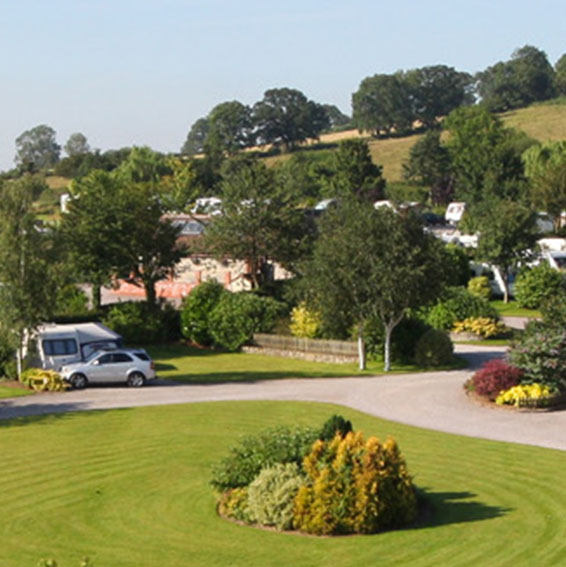 Old Oaks Touring and Glamping park near Glastonbury